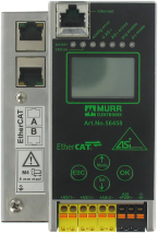 Gateway EtherCAT/AS-i, 2 Masters