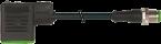 M12 MALE 0° / MSUD VALVE PLUG FORM BI 11MM