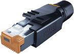RJ45 PROFESSIONAL MALE 0° 8 POL. SHIELDED