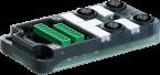 EXACT12, 4XM12, 5-POLE, BASIC HOUSING, NPN-LED'S