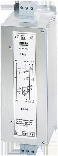 MEF EMC-FILTER 3-PHASE 1-STAGE