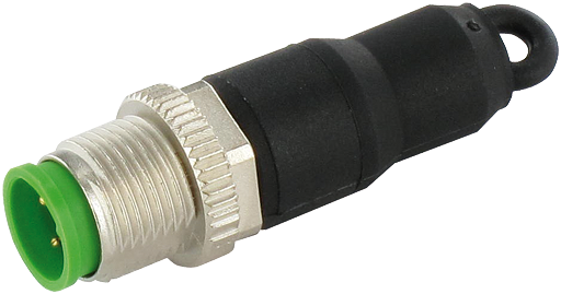 M12 MALE 0° CODING PLUG JUMPER 1-4